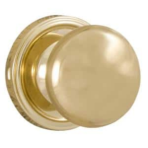 Traditionale Polished Brass Half-Dummy Impresa Door Knob