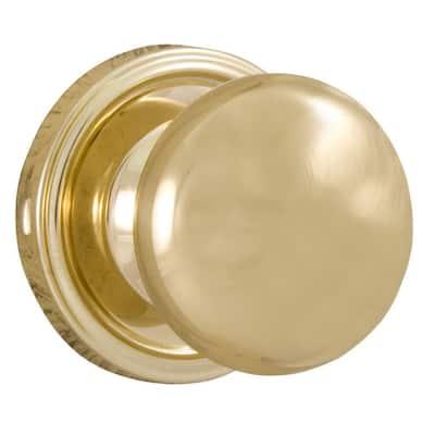 Traditionale Polished Brass Half-Dummy Impresa Door Knob