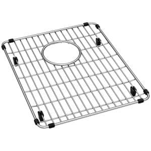 11.875 in. x 14.375 in. Bottom Grid for Kitchen Sink in Stainless Steel