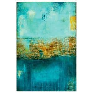 ''Castle Court'' by EAD Art Coop Frameless Free-Floating Tempered Art Glass Wall Art