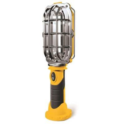 Ultra-Bright LED 8.35 in. Yellow Cordless Work Light Lamp