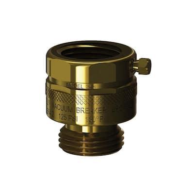 3/4 in. x 3/4 in. Brass Add-On Hose Connection Vacuum Breaker