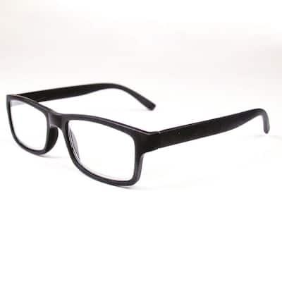 Reading Glasses Retro Black 2.5 Magnification