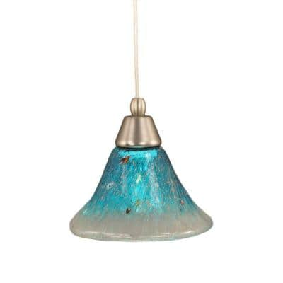 Concord 1-Light Brushed Nickel Pendant