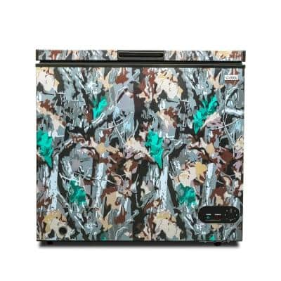 7 cu. ft. Manual Defrost Chest Freezer in Green Camo