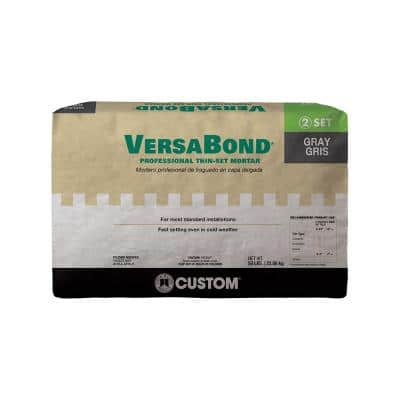 VersaBond 50 lb. Gray Fortified Thinset Mortar