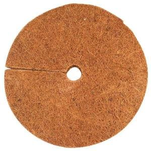 4 in. Coconut Fiber Mulch Tree Ring Protector Mat (20-Pack)