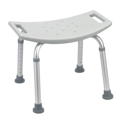 Grey Bathroom Safety Shower Tub Bench Chair