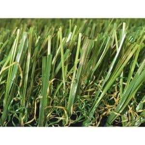 GREENLINE 3D-W Premium 65 Fescue 15 ft. Wide x Cut to Length Artificial Grass