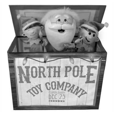 Christmas Pop Up Toy Box