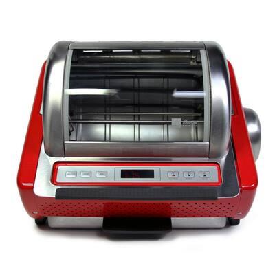 EZ-Store 7.5 Qt. Red Rotisserie Oven