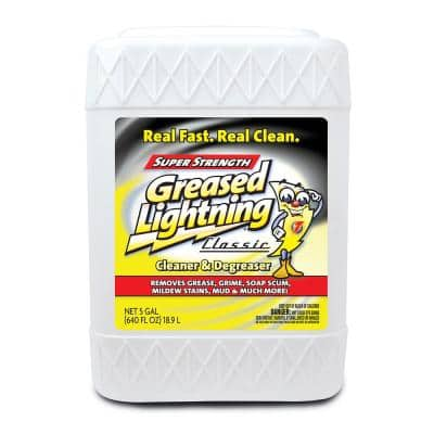 5 Gal. Greased Lighting Pro Strength Cleaner and Degreaser