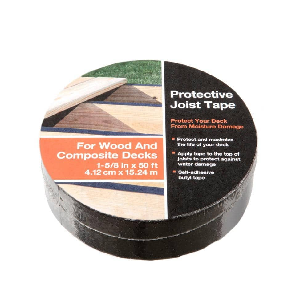 1 5 8 In X 50 Ft Butyl Joist Tape 398228 The Home Depot