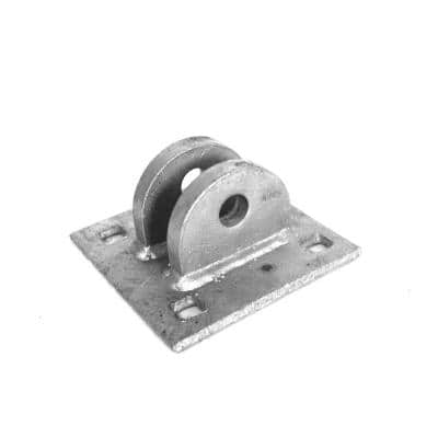 5 in. x 3 in. x 5 in. Metal Female T Connector