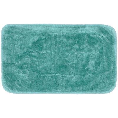 Finest Luxury Sea Foam 30 in. x 50 in. Plush Nylon Bath Mat