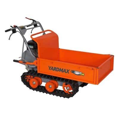 YD8203 Track Barrow - Flatbed, 660lb. Capacity, Briggs CR950, 6.5 hp, 208cc