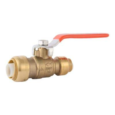 3/4 in. x 1/2 in. Push-to-Connect Reducing Ball Valve