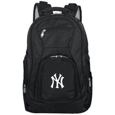 MLB New York Yankees Black Backpack Laptop