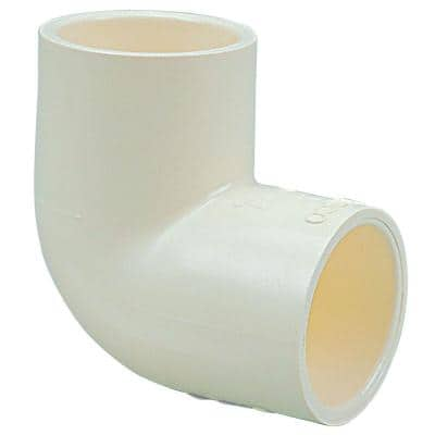 1/2 in. CPVC-CTS 90-Degree Slip x Slip Elbow Fitting (10-Pack)