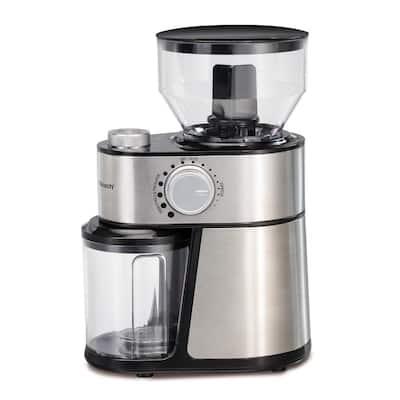 16 oz Stainless Steel Burr Coffee Grinder