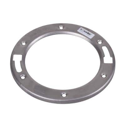 1/4 in. Stainless Steel Toilet Flange Replacement Ring