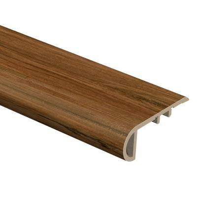 Cider Oak 3/4 in. Thick x 2-1/8 in. Wide x 94 in. Length Vinyl Stair Nose Molding