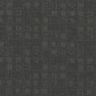 Crafter Steel 24 in. x 24 in. Carpet Tiles (8 syds. case/carton - 18 Tiles case/carton)