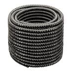 1-1/2 in. Dia x 50 ft. MM Sizing Black Non Kink, Corrugated, Flexible PVC Pond Tubing