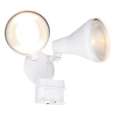 180° White Motion Activated Outdoor Flood Light