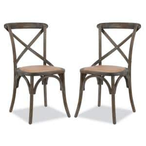 Cafton Ash Crossback Chair (Set of 2)