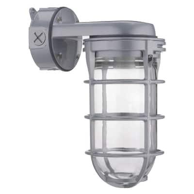 150W Incandescent Utility Vapor Tight Wall Lantern Sconce Fixture