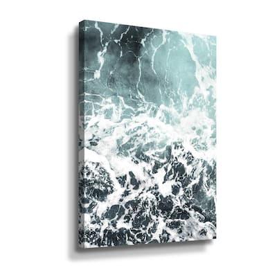 Waves I' by PhotoINC Studio Canvas Wall Art