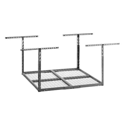 GearLoft Hammered Granite Adjustable Height Overhead Garage Storage Rack (48 in W x 48 in D)