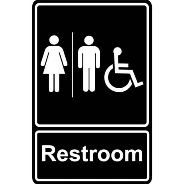 Uni Men And Women Restroom Bathroom, Men And Women Bathroom Sign