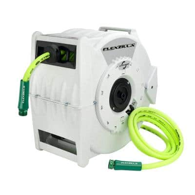 1/2 in. dia. X 70 ft. Retractible Water Hose Reel with Levelwind Technology