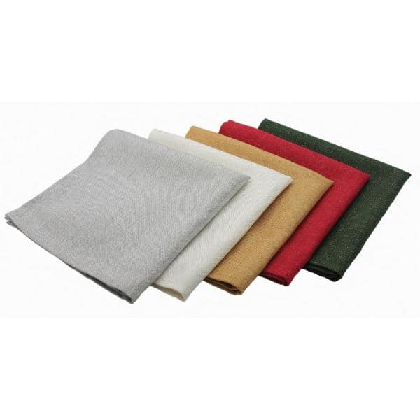 in 4 Color Options including Burgundy Set of 4 or 6 Solid Red Cloth Napkins