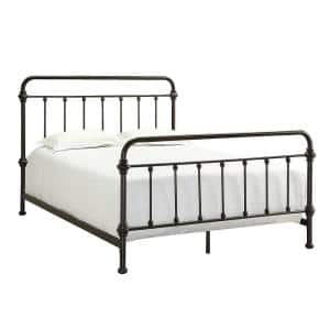 Calabria Antique Brown Full Bed Frame