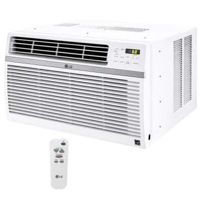 18,000 BTU 230/208-Volt Window Air Conditioner LW1816ER with ENERGY STAR and Remote in White