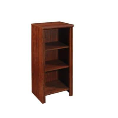 Impressions 16 in. W Dark Cherry Base Organizer for Wood Closet System