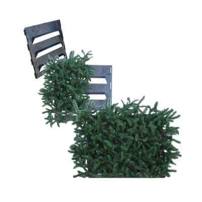 Additional Side Panel for Model 46A Faux Evergreen Utility Equipment Cover