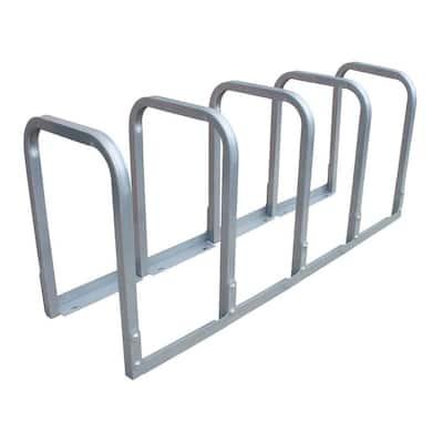U-Lockit 10-Bike 66 in. Galvanized Bike Rack