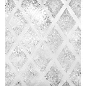 24 in. W x 36 in. H Diamond Glass Decorative Window Film