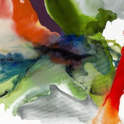 """84 in. x 84 in. """"Vibrant Terrain II"""" by Sisa Jasper Canvas Wall Art"""