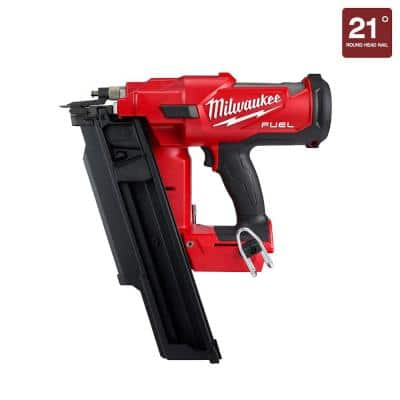 M18 FUEL 3-1/2 in. 18-Volt 21-Degree Lithium-Ion Brushless Cordless Framing Nailer (Tool-Only)
