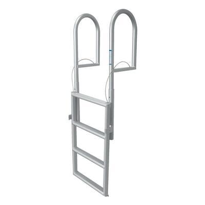 3-Step Standard Rung Lifting Aluminum Dock Ladder
