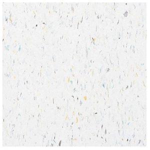 Excelon Multi 12 in. x 12 in. Harlequin White Vinyl Tile Flooring (45 sq. ft. / case)