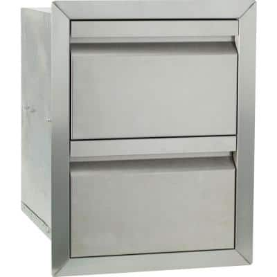 Barbecue Double Drawer