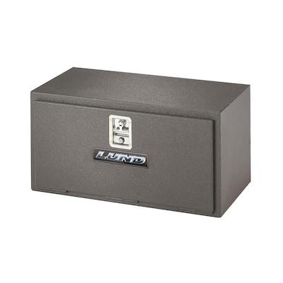24 Matte Black Aluminum Underbody Truck Tool Box