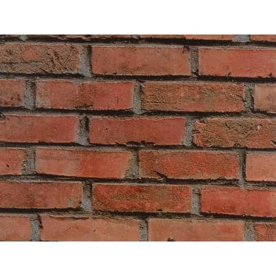 Red Brick Wall Adhesive Film