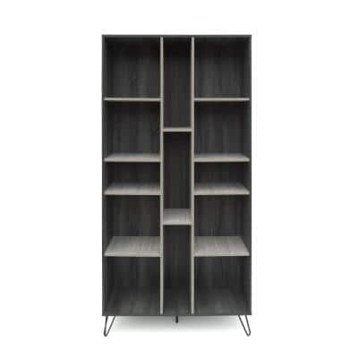 Bramhall 3-Piece 47.3 in. Sonoma Grey Oak Entertainment Center with 1-Drawer Fits TV's up to 53 in. with Shelves